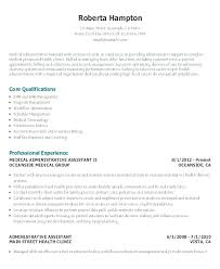 Administrative Executive Assistant Resume Pdf Mples Template Functional Sample Exe