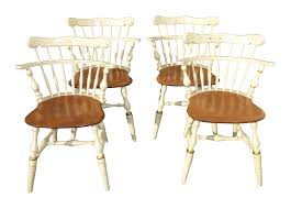 French Country White Ethan Allen Comb Back Chairs - Set Of 4 | Chairish Country French Fniture Ethan Allen Jokoverclub 81 Off Ethan Allen Country French Sofa Table Tables Chairs Unique 50 Inspirational Wheatback Ding Set Of 6 Chairish And Room Ideas Rustic Pating Words Wallpaper Eiffel Tower Wall Art Paris Dectable Ethan Allen 106 Oval 26 6214 Collection White Wheat Back Side Bedroom Awesome Luxury Sets For Your