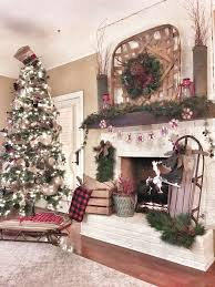 Decorations 2017 Best 25 Christmas Fireplace Ideas On Pinterest