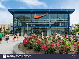 Nike Factory by Nike Factory Outlet Atlantic City New Jersey Usa Stock