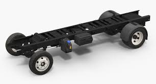 100 Truck Chassis 3D Truck Frame Chassis TurboSquid 1232650