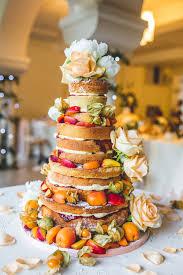 Naked Wedding Cake Italian Villa