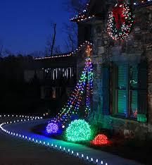 Flagpole Christmas Tree by Diy Flagpole Christmas Tree Lights Megatrees Of Lights Easy To
