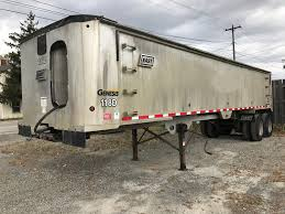 2007 East Aluminum Frameless Dump Trailer « AMG Truck & Equipment