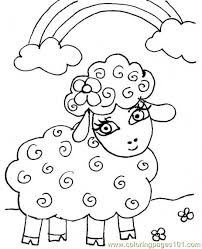 Full Size Of Coloring Pagelamb Pages Colouring Page 460 0 Lamb