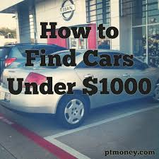 How To Find The Absolute Best Cars Under $1,000 | PT Money