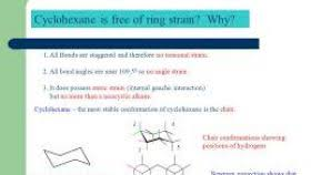 Chair Conformation Of Cyclohexane Ppt by Chair Conformation Of Cyclohexane And Its Newman Projection Ldnmen Com