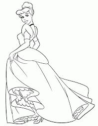 Pages Iphone Coloring Disney Cinderella To Print New At Princess