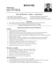 Sample Resume For Admin Jobs In Singapore New Manager Administration India