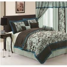 44 best brown and blue bedding images on pinterest blue bedding
