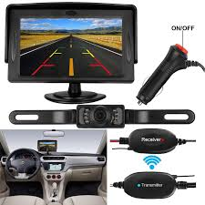 100 Rear Camera For Truck Amazoncom DohonesBest Wireless Backup And 43 Inch Monitor