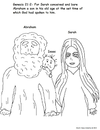Churchhousecollection Resources Abraham20and Source Baby Isaac Coloring Pages