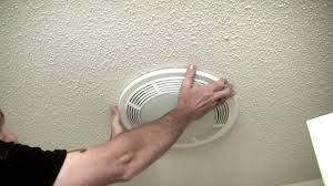 Nutone Bathroom Fan Replace Light Bulb by Changing Bulb In Exhaust Fan Lakeview Youtube