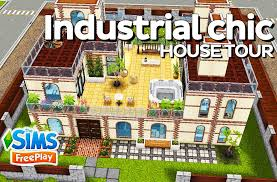 Sims Freeplay Second Floor by The Simsfreeplay Industrial Chic Original Design Youtube