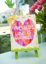 Handmade Love Crayon Resist Watercolor Art