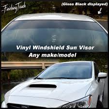 100 Truck Windshield Visor Vinyl Sun Window Shade Vinyl Banner Decal Etsy