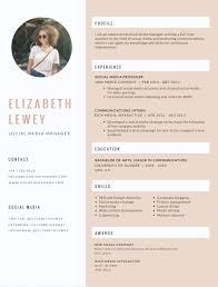 Canva 1 Resume Template