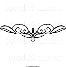 Wedding Clipart Swirl 12