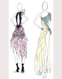 Fashion Sketches For Dress Designing