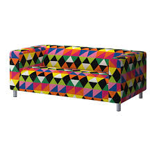 klippan cover two seat sofa ikea the cover is easy to keep clean