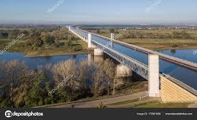 100 Magdeburg Water Bridge Aerial View Of Stock Photo Pizzatravel