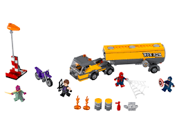 Tanker Truck Takedown - LEGO MARVEL Super Heroes Set 76067