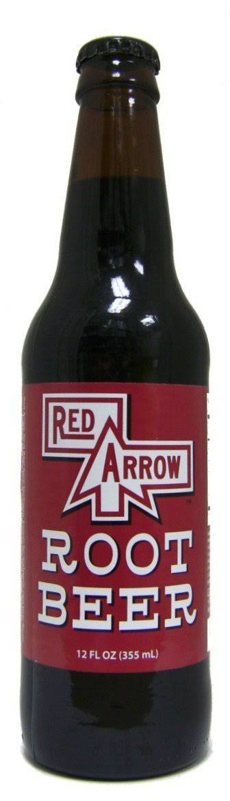 Retro Red Arrow Root Beer - 12 Pack
