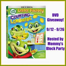 Mommy s Block Party LeapFrog Letter Factory Adventures Counting