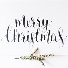 Merry Christmas Calligraphy Wwwwillowandinkcomau Christmas