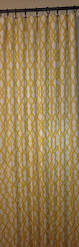Navy Geometric Pattern Curtains by Grey Trellis Curtains Decor Mellanie Design