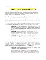 Resume Objective Examples Purchasing Manager Objectives Writing Tips Gallery Sample Template Business Pertaining To Whats A