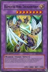 Yugioh Structure Deck List Wiki by Elemental Hero Thunderstorm Yu Gi Oh Card Maker Wiki Fandom