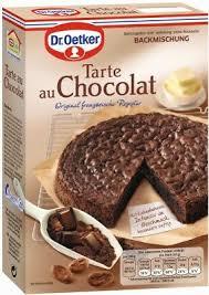 dr oetker tarte au chocolat kuchen backmischung 470 gramm