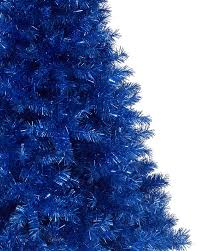 Silver Tip Christmas Tree Los Angeles by Sassy Sapphire Blue Tinsel Christmas Tree Treetopia