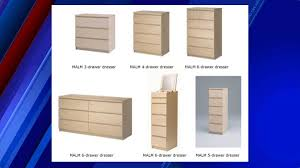 Dresser Wi Weather Forecast by Eighth Child Death From Fallen Ikea Dresser Prompts Recall