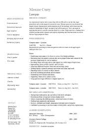 Attorney Assistant Resume Law Samples Template