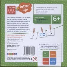 Bolcom Maan Roos Vis Letterlijn 9789048722884 Boeken