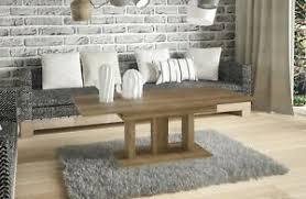 details zu couchtisch alia funktion 110cm erweiterbar auf 170cm ausziehbar wohnzimmertisch