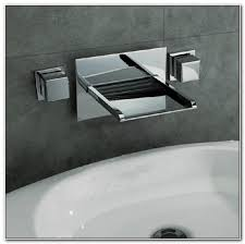 Wall Mounted Led Waterfall Faucet by Delta Waterfall Wall Mount Tub Faucet Sinks And Faucets Home