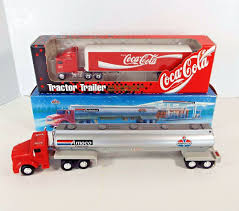 2 Vintage Trucks 1 64 Ertl Diecast Coca Cola Amoco Tanker With 2 ... 1960s Cacola Metal Toy Truck By Buddy L Side Opens Up 30 I Folk Art Smith Miller Coke Truck Smitty Toy Amazoncom Coke Cacola Semi Truck Vehicle 132 Scale Toy 2 Vintage Trucks 1 64 Ertl Diecast Coca Cola Amoco Tanker With Lot Of Bryoperated Toys Tomica Limited Lv92a Nissan Diesel 35 443012 Led Christmas Light Red Amazoncouk Delivery Collection Xdersbrian Lgb 25194 G Gauge Mogul Steamsoundsmoke Tender Trainz Pickup Transparent Png Stickpng Red Pressed Steel Buddy Trailer