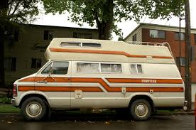 OLD PARKED CARS 1981 Dodge Ram 350 Royal Frontier Camper Van
