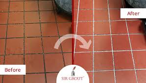 outstanding commercial kitchen quarry tile cleaning sealing in
