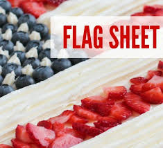 Flag Sheet Cake for the 4th of July I know the 4th of July is RIGHT around the corner and I wanted to give you the perfect treat to make for all
