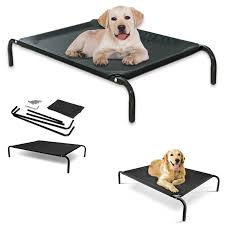 Coolaroo Dog Bed Large by Dog Cot Bed Ku0026h Cool Breeze Portable Dog Bed How To Make