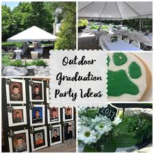 Graduation Decoration Ideas 2017 by Outdoor Graduation Party Evolution Of Style