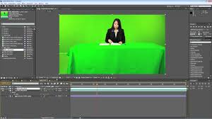 Virtual Set Tutorial Green Screen Outlet
