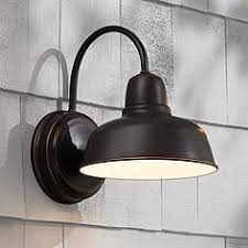 Urban Barn 11 1 4 High Bronze Indoor Outdoor Wall Light