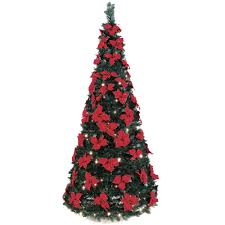 The 6 Pop Up Poinsettia Tree