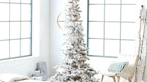 75 Foot Christmas Tree Splendid Ideas Slim 7 5 Led Trees Aspen White Interior