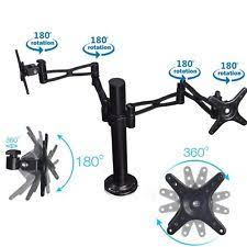 Vesa Desk Mount Articulating Arm by Humanscale M7 Monitor Mount Arm Post Stand 14